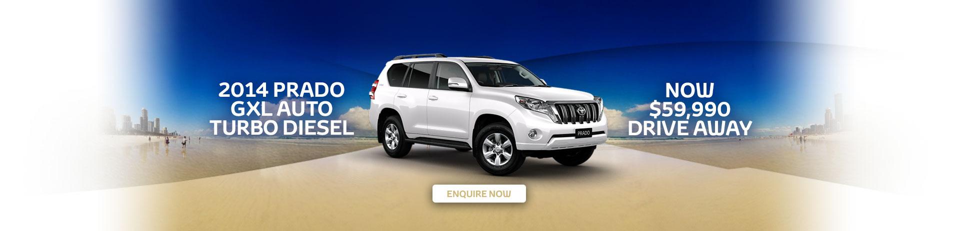 Toyota Prado GXL Deal