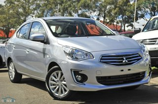Discounted Demonstrator, Demo, Near New Mitsubishi Mirage ES, Nundah, 2014 Mitsubishi Mirage ES LA MY15 Sedan