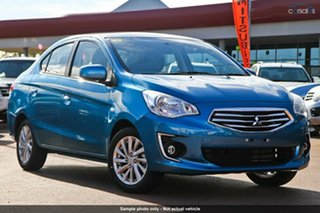 Discounted Demonstrator, Demo, Near New Mitsubishi Mirage ES, Nundah, 2014 Mitsubishi Mirage ES LA MY15 Sedan