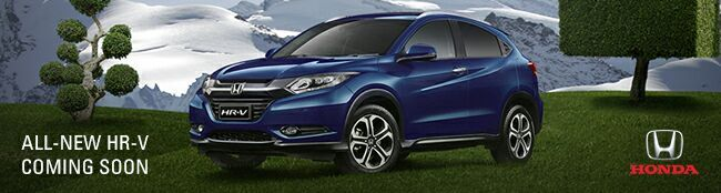 All-New HR-V Coming Soon