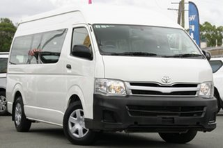 Used Toyota Hiace Commuter High Roof Super LWB, 2012 Toyota Hiace Commuter High Roof Super LWB KDH223R MY12 Passenger Bus