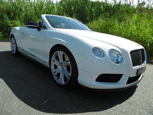 Used Bentley Continental GT S, Moorooka, 2014 Bentley Continental GT S 3W MY15 Convertible