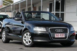 Used Audi A3 TFSI S tronic Attraction, Nundah, 2010 Audi A3 TFSI S tronic Attraction 8P MY10 Convertible