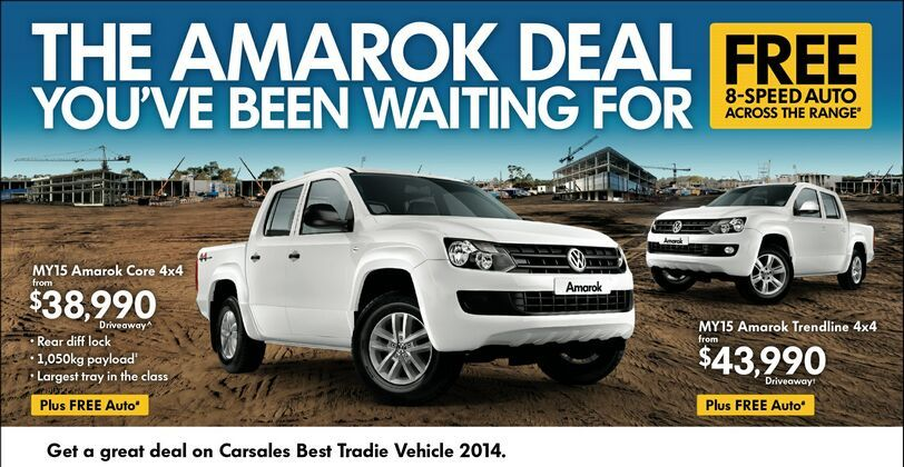 The Amarok deal you've been waiting for!