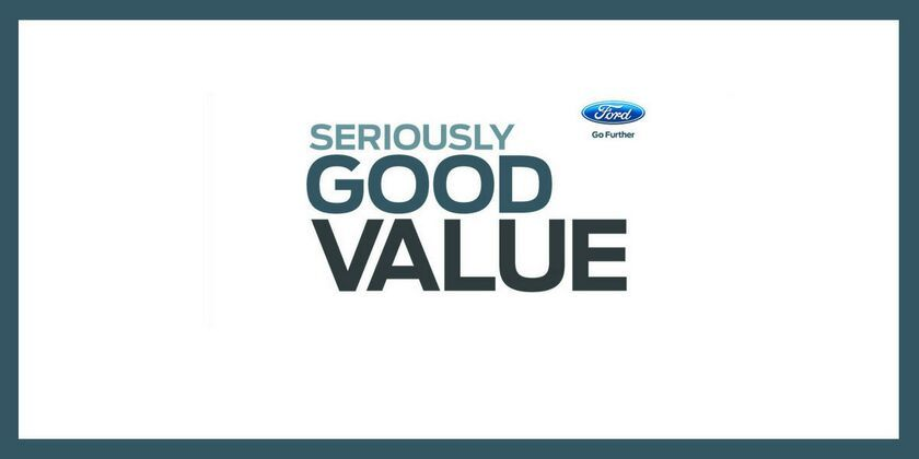 Seriously Good Value at Kinghorn Ford