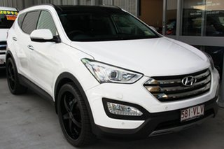 Discounted Demonstrator, Demo, Near New Hyundai Santa Fe Highlander, Kedron, 2014 Hyundai Santa Fe Highlander DM2 MY15 Wagon