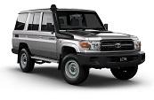 New Toyota LandCruiser 70, Toyotaways, Rockingham