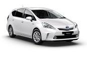 New Toyota Prius v, Toyotaways, Rockingham
