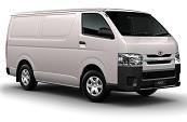 New Toyota HiAce, Toyotaways, Rockingham