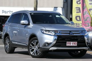 Discounted Demonstrator, Demo, Near New Mitsubishi Outlander Exceed 4WD, Nundah, 2015 Mitsubishi Outlander Exceed 4WD ZK MY16 Wagon