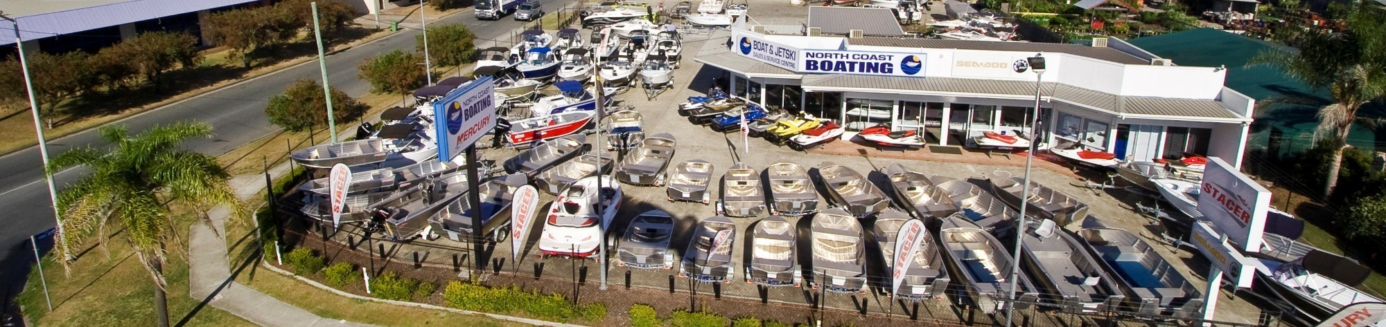 North Coast Boating   Boat Shop Sunshine Coast   Our Yard