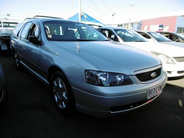 Used Ford Falcon XT, Moorooka, 2004 Ford Falcon XT BA Mk II Wagon