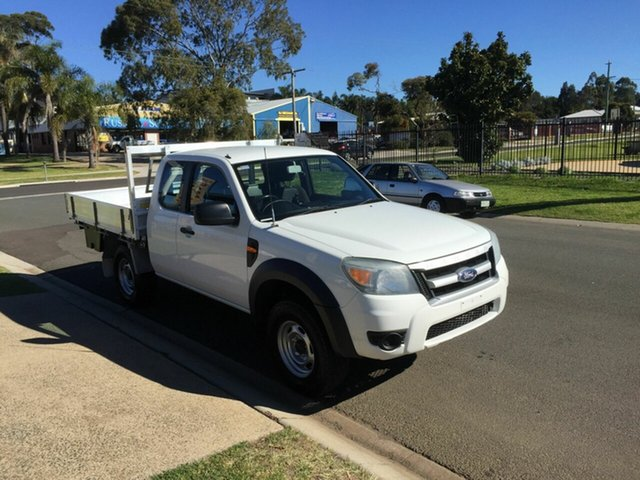 Used Ford Ranger XL (4x4), Toowoomba, 2010 Ford Ranger XL (4x4) Super Cab Chassis