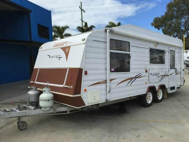 Used Concept ASCOT Caravan, Gympie, Concept ASCOT Caravan
