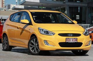 Discounted Demonstrator, Demo, Near New Hyundai Accent SR, Kedron, 2015 Hyundai Accent SR RB3 MY15 Hatchback