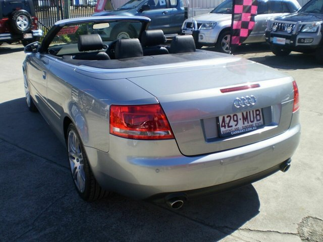 Used Audi A4 1.8T Cabriolet, Morayfield, 2007 Audi A4 1.8T Cabriolet B7 Cabriolet