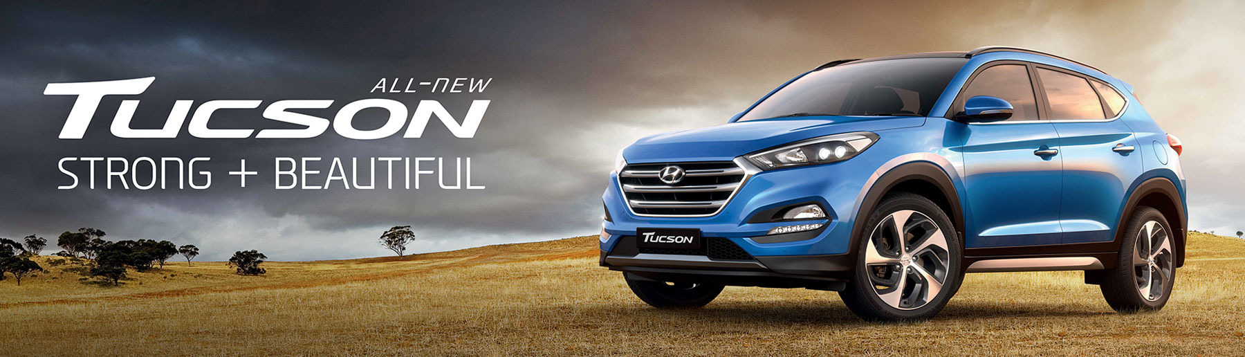 All New Hyundai Tucson - Strong + Beautiful