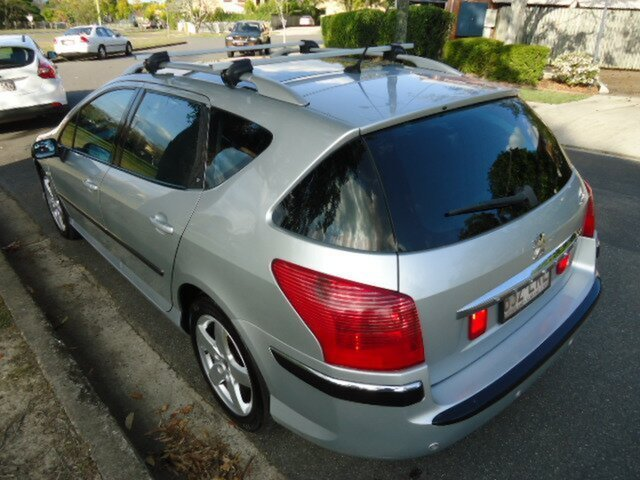Used Peugeot 407 ST HDI Touring Executive, Chermside, 2005 Peugeot 407 ST HDI Touring Executive MY05 Wagon