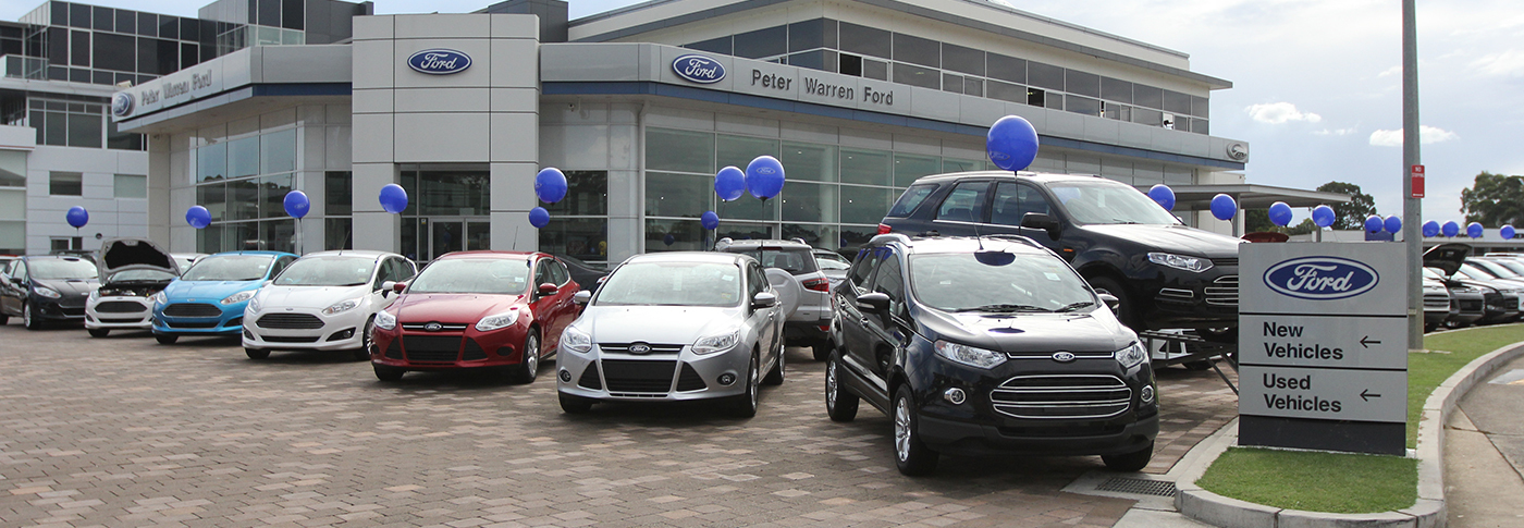 Peter Warren Ford Dealership Sydney