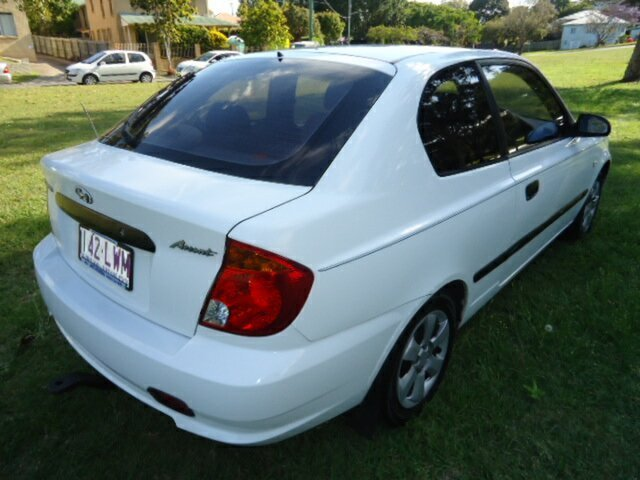 Used Hyundai Accent 1.6, Chermside, 2003 Hyundai Accent 1.6 LC Hatchback