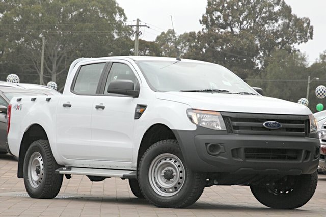 Discounted Demonstrator, Demo, Near New Ford Ranger XL Double Cab Plus, Warwick Farm, 2015 Ford Ranger XL Double Cab Plus Utility