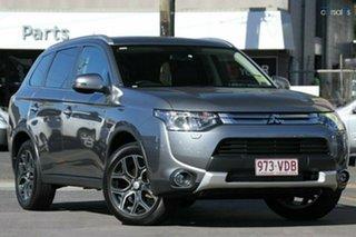 Discounted Demonstrator, Demo, Near New Mitsubishi Outlander Aspire 4WD, Nundah, 2014 Mitsubishi Outlander Aspire 4WD ZJ MY14.5 Wagon
