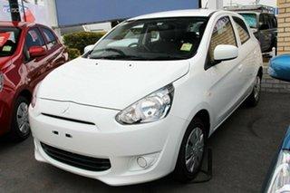 Discounted Demonstrator, Demo, Near New Mitsubishi Mirage ES, Nundah, 2015 Mitsubishi Mirage ES LA MY15 Hatchback