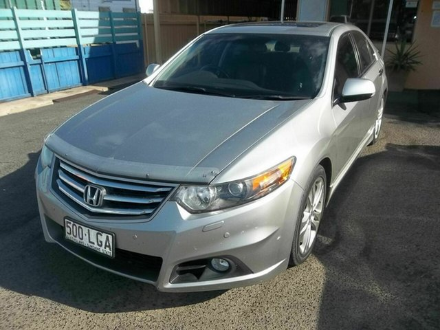 Used Honda Accord Euro Luxury Navi, North Rockhampton, 2008 Honda Accord Euro Luxury Navi Sedan