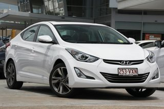 Discounted Demonstrator, Demo, Near New Hyundai Elantra Premium, Kedron, 2015 Hyundai Elantra Premium MD3 Sedan