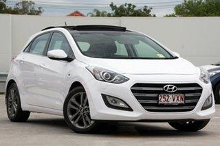 Discounted Demonstrator, Demo, Near New Hyundai i30 SR Premium, Kedron, 2015 Hyundai i30 SR Premium GD3 Series II MY16 Hatchback