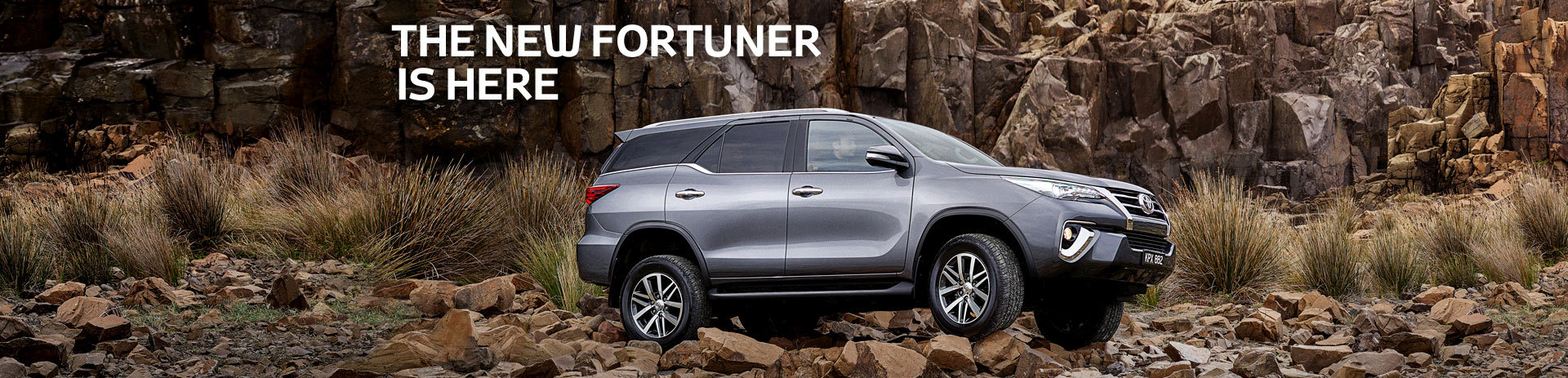 The new Fortuner is here