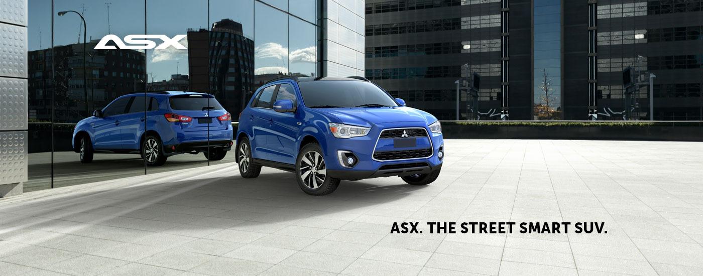 ASX. The street-smart SUV.