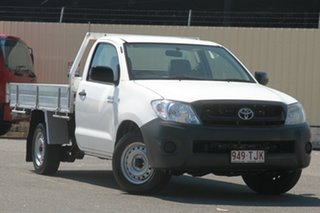 Used Toyota Hilux Workmate, 2010 Toyota Hilux Workmate TGN16R MY10 Cab Chassis