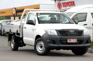 Used Toyota Hilux Workmate, 2013 Toyota Hilux Workmate TGN16R MY14 Cab Chassis