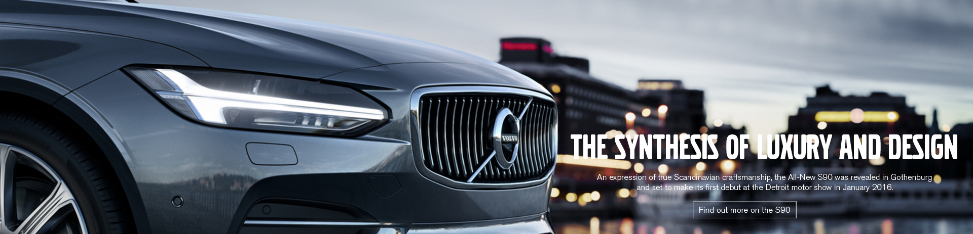 Volvo S90 Coming Soon