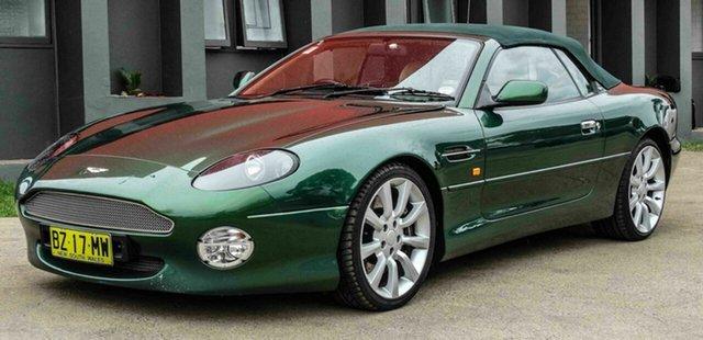 Used Aston Martin DB7 Vantage Volante, Blacktown, 2002 Aston Martin DB7 Vantage Volante Convertible
