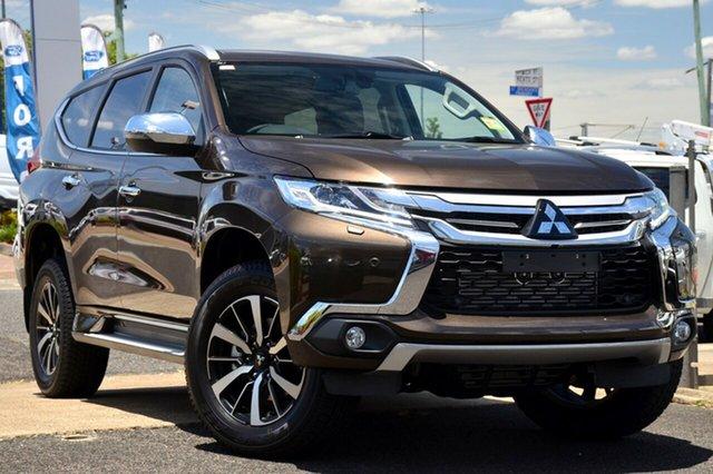 Demonstrator, Demo, Near New Mitsubishi Pajero Sport Exceed, Beaudesert, 2018 Mitsubishi Pajero Sport Exceed Wagon