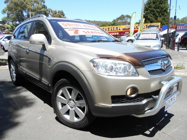 Used Holden Captiva LX (4x4), Upper Ferntree Gully, 2009 Holden Captiva LX (4x4) Wagon