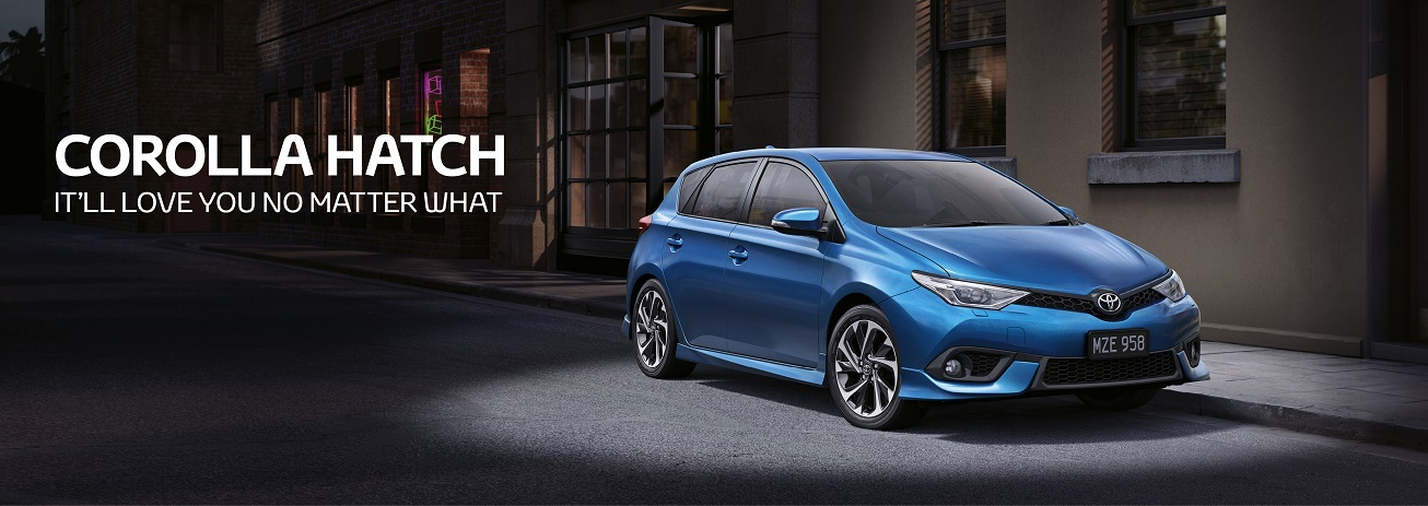 Corolla Hatch. It will love you no matter what !
