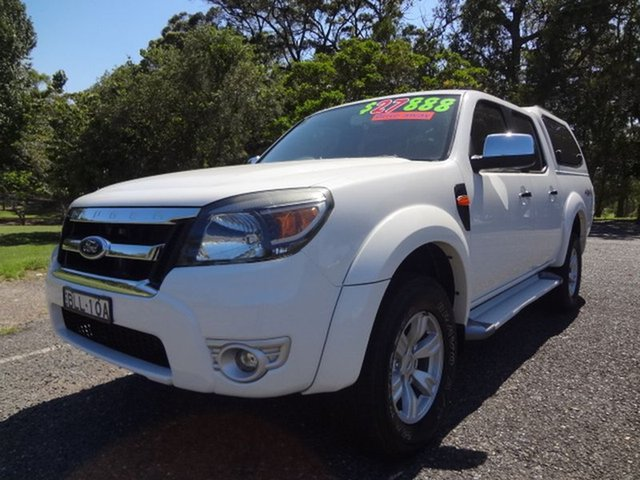 Used Ford Ranger XLT Crew Cab, Coffs Harbour, 2009 Ford Ranger XLT Crew Cab Utility