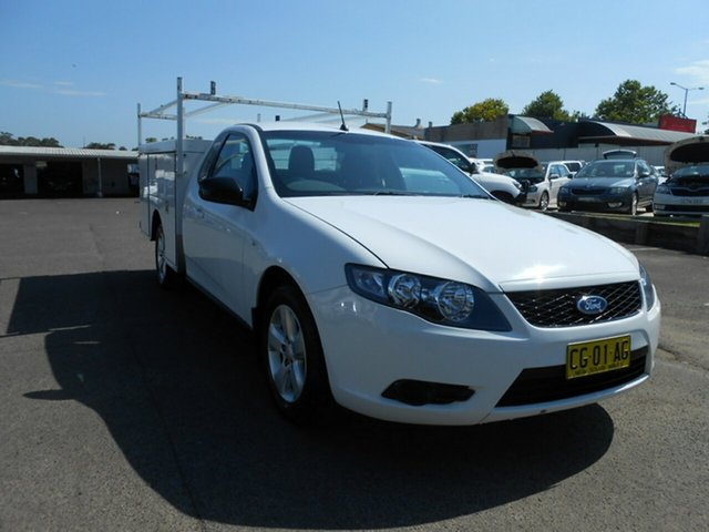 Used Ford Falcon EcoLPi Ute Super Cab, Nowra, 2009 Ford Falcon EcoLPi Ute Super Cab FG Service Body