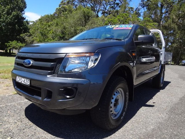 Used Ford Ranger XL Double Cab, Coffs Harbour, 2013 Ford Ranger XL Double Cab Utility