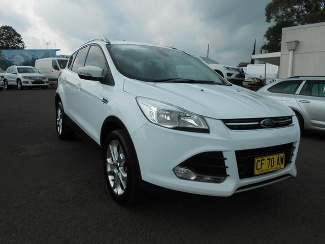 Used Ford Kuga Trend PwrShift AWD, Nowra, 2014 Ford Kuga Trend PwrShift AWD TF MY15 Wagon