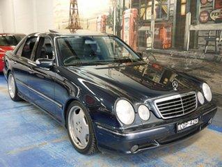 Used Mercedes-Benz E55 AMG, Marrickville, 2000 Mercedes-Benz E55 AMG W210 Sedan