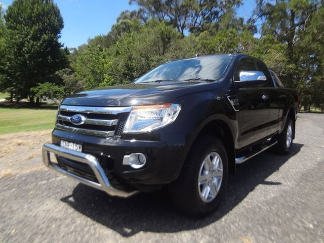 Used Ford Ranger XLT Super Cab, Coffs Harbour, 2012 Ford Ranger XLT Super Cab Utility
