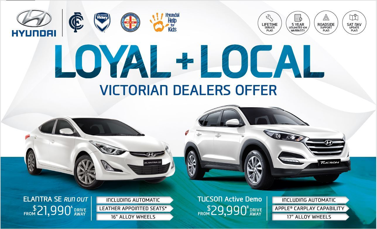 Loyal + Local Southern region offers