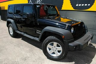 Used Jeep Wrangler Unlimited Sport, Melrose Park, 2010 Jeep Wrangler Unlimited Sport JK MY2010 Softtop