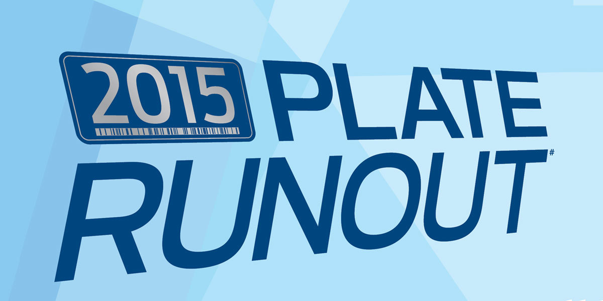 2015 Plate Runout