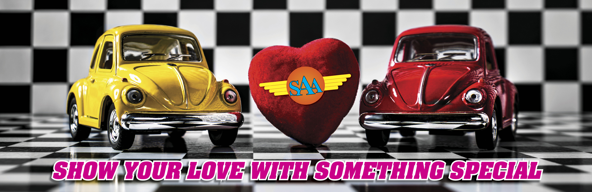Valentine's Day is just around the corner. Give the gift of a new car.