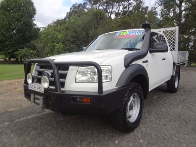 Used Ford Ranger XL Super Cab, Coffs Harbour, 2008 Ford Ranger XL Super Cab Cab Chassis